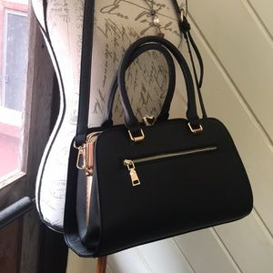 Handbags - Classy Elegant Black Purse Bling Knob Boutique 🌺